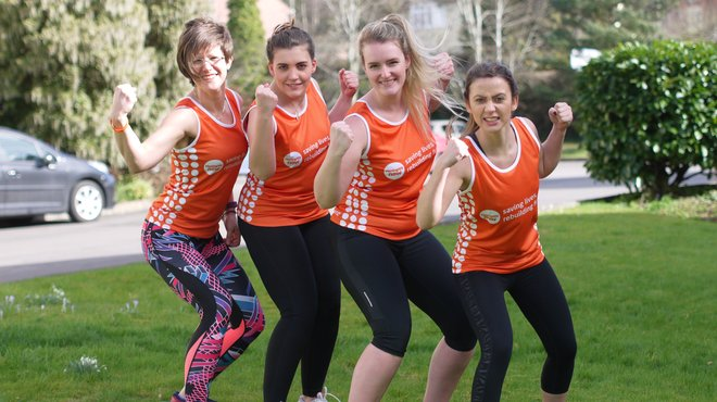 Meningitis Now fundraising event - staff Tough Mudder