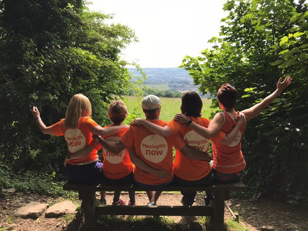 Meningitis Now fundraising event Five Valleys Walk