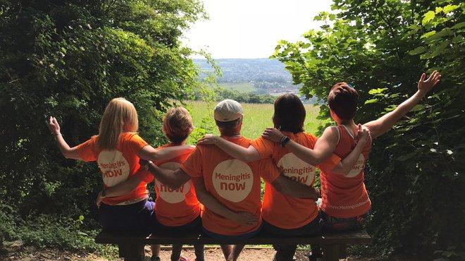 Meningitis Now fundraising event Five Valleys Walk