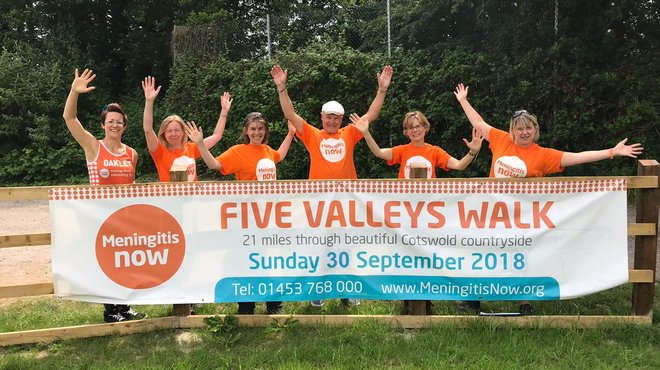 Meningitis Now Five Valleys Walk 2018