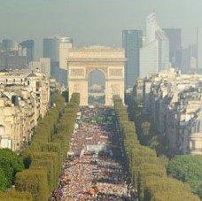 Meningitis Now overseas fundraising event - Paris Marathon