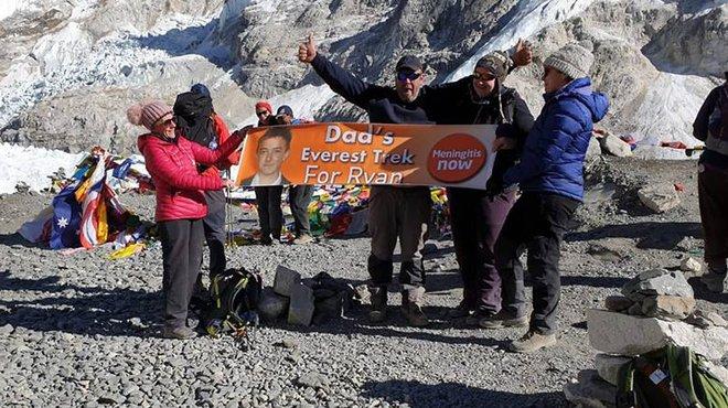Everest base camp in memory of meningitis victim blog