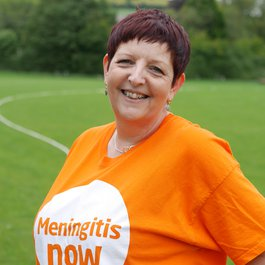 Meningitis Now staff member Paula Atkinson