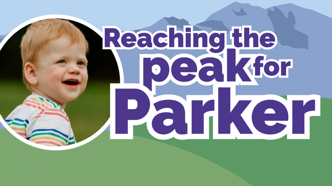 Reaching the peak to fundraise for Parker after pneumococcal meningitis