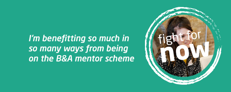Peer mentoring through Meningitis Now's Believe & Achieve for Lucy and Misa