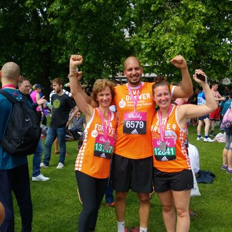 Meningitis Now fundraising event - London 10,000