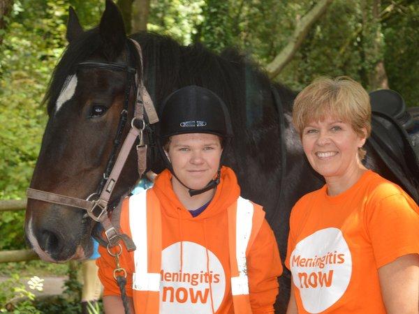 Meningitis Now Community Ambassador Alison Westwood