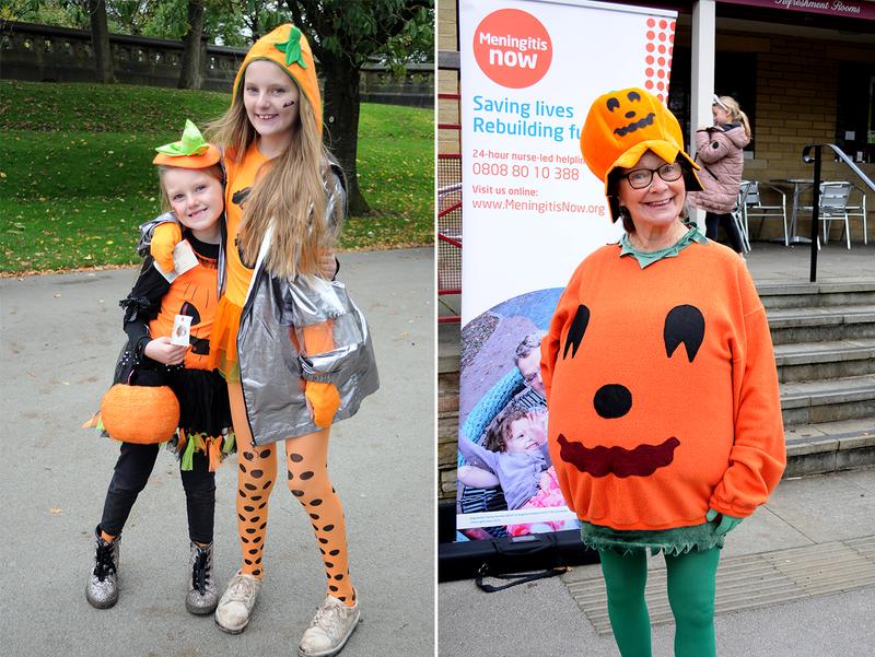 Meningitis Now fundraising event Pumpkin Parade a spooky success
