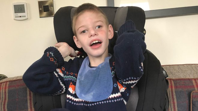 Meningitis Now's Rebuilding Futures Fund gets Reese a car seat