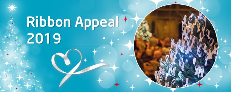 Meningitis Now's fundraising Ribbon Appeal 2019