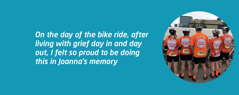 RideLondon-Surrey 100 in memory of Joanna Yates