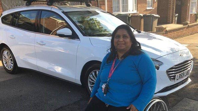 Meningitis Now Financial support Keeps Rita on the road