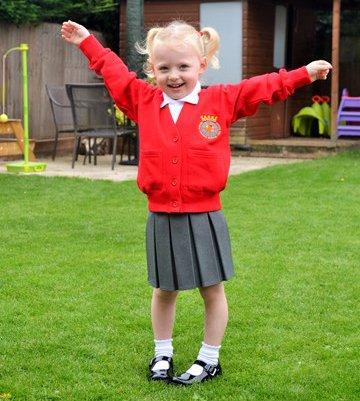 Ross and Hannah run Great North Run after daughter Aubrey contracted pneumococcal meningitis