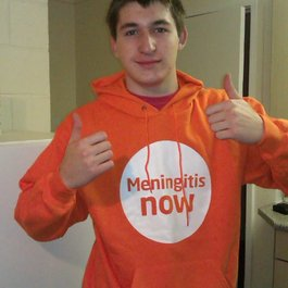 Meningitis Now Young Ambassador Ross Wheeler Clayton