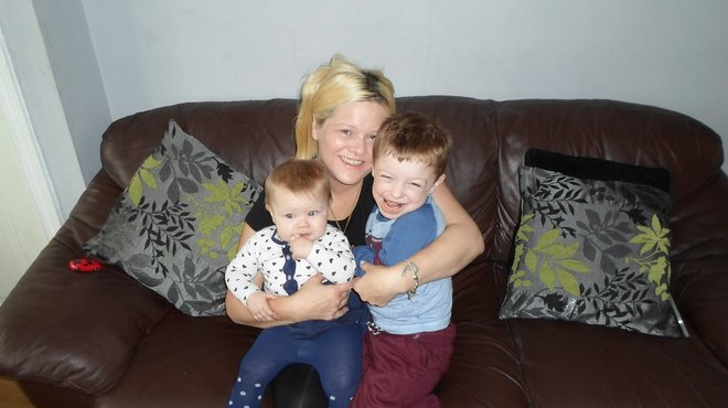 Julie Tuckley helping Meningitis Now campaign for MenB vaccine extention