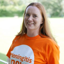 Meningitis Now staff - Sarah Ramsay