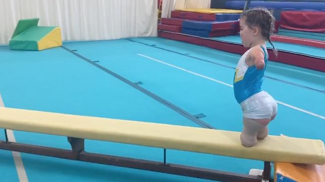 Meningitis Now Junior Ambassador Harmonie-Rose on international gymnastics shortlist