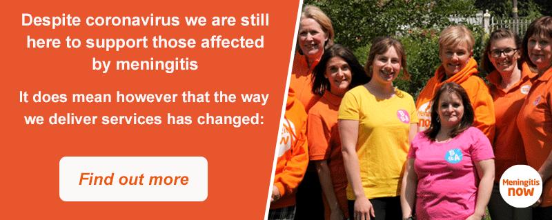 Access Meningitis Now's Support Services