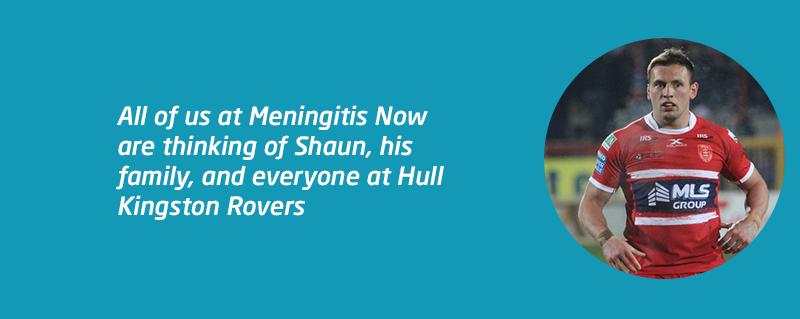 Shaun Lunt hospitalised with meningitis