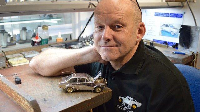 Model car meningitis fundraiser