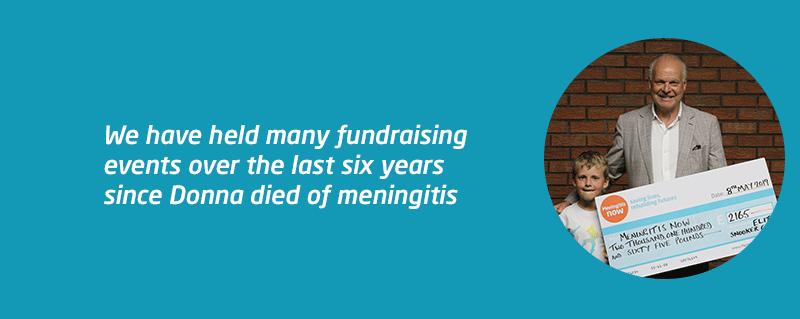 Snooker fundraiser fotr meningitis