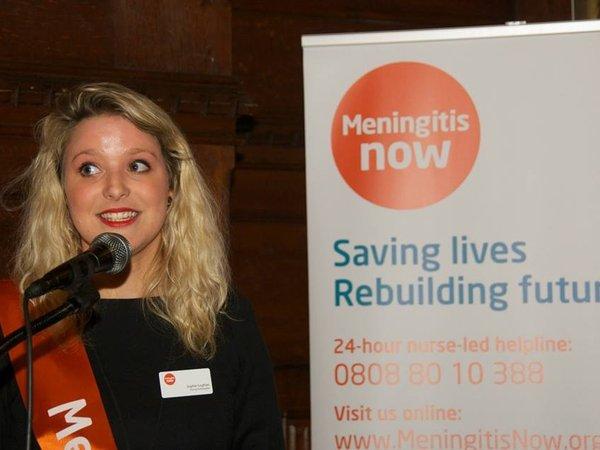 Meningitis Now Young Ambassador Sophie
