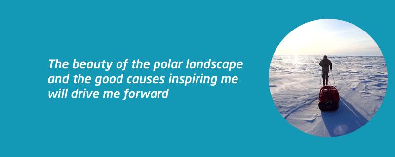 South Pole challenge