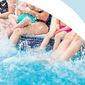 Meningitis Now fundraising event Splash Now link box