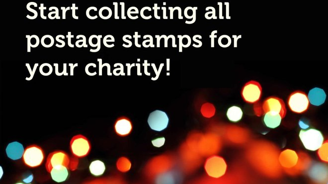 Christmas stamp collection for Meningitis Now
