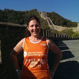 Meningitis Now Community Ambassador Steph Carter