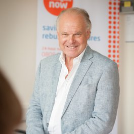 Meningitis Now founder Steve Dayman