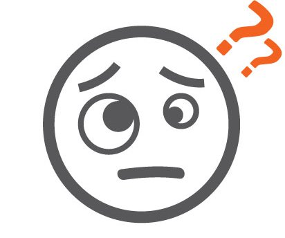 Meningitis signs and symptoms emoji - confusion