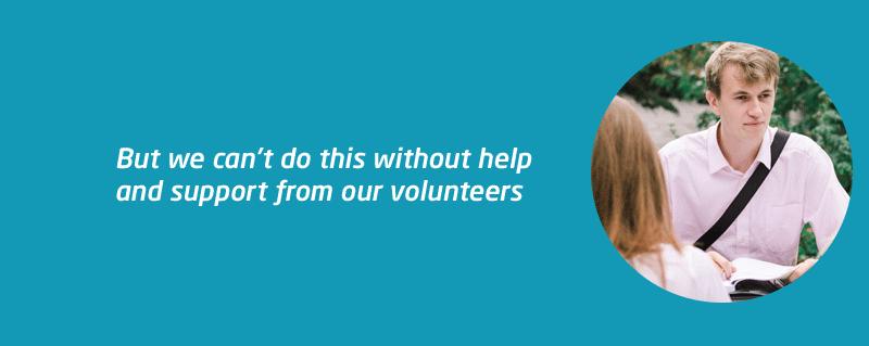 Student volunteer ask