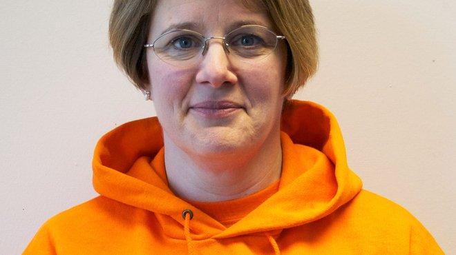 Meningitis Now staff member CEO Sue Davie