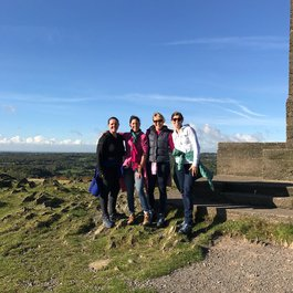 Mum takes on Three Peaks for Meningitis Now