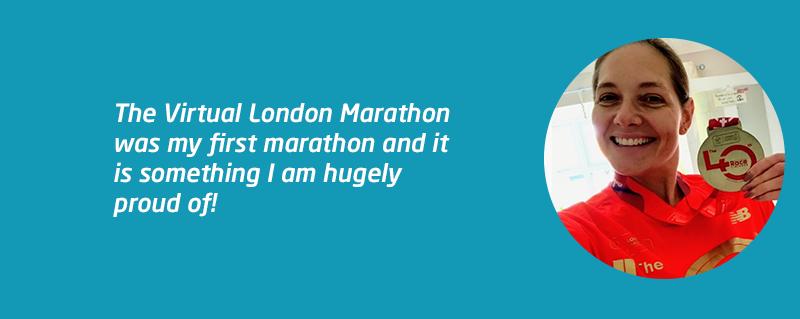 Take on Virtual London Marathon for Meningitis Now like Amy