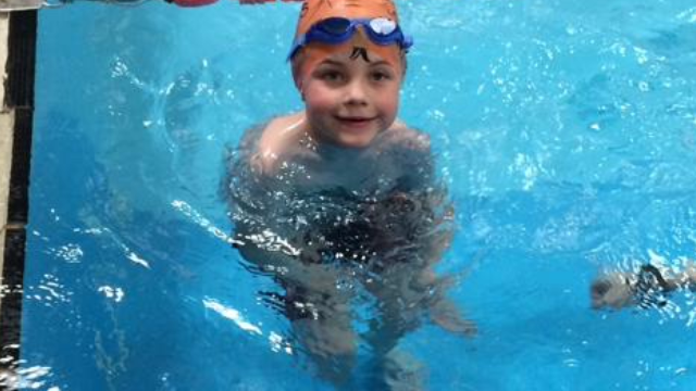 Thomas fundraising for Splash Now blog