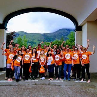 Meningitis Now event Three Peaks fundraising challenge