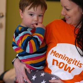 Meningitis Now Family Day support event