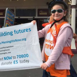Pedal for meningitis victim Edward blog