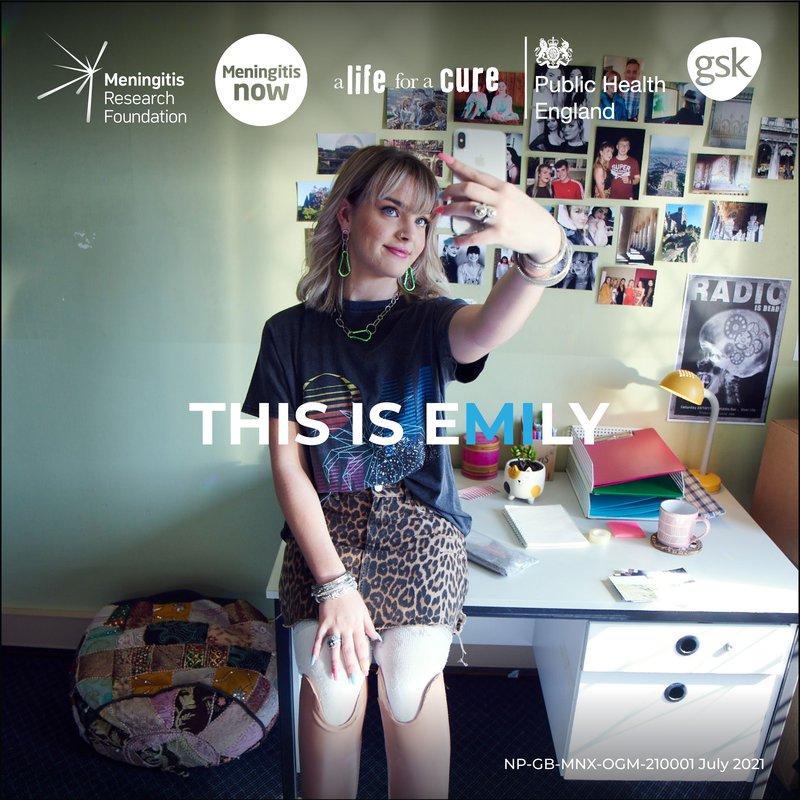 Survey of young Londoners shows meningitis awareness worryingly low - UK MDAC - Emily