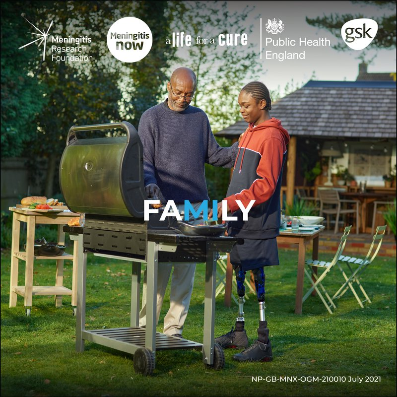 Survey of young Londoners shows meningitis awareness worryingly low - UK MDAC - Family image