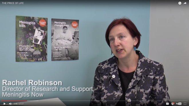 Price of life - student video highlighting awareness of meningitis