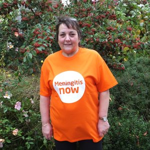 Meningitis Now Community Ambassador Val Stephenson