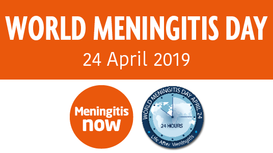World Meningitis Day 2019 logos - link box