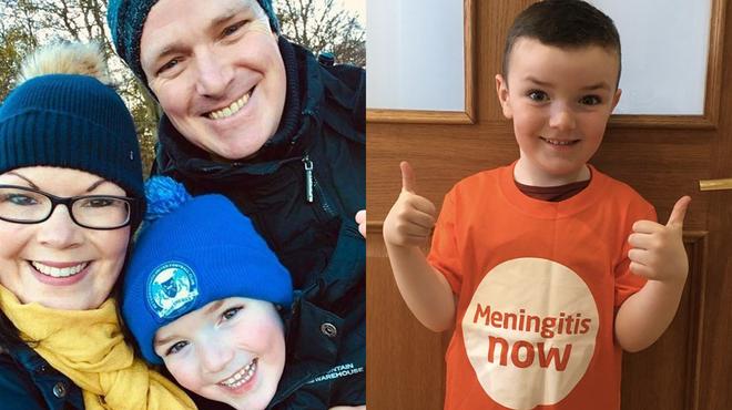 Meningitis survivor William takes on a fundraising marathon