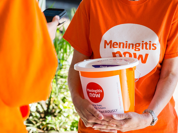 World Meningitis Day 2019 Fundraising link box