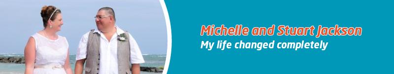 World Meningitis Day blog - banner graphic - Michelle and Stuart Jackson