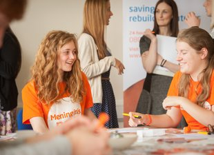 Meningitis Now Young Ambassador day - Isa