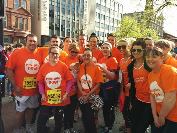 Meningitis Now fundraising event - Belfast Marathon